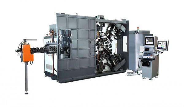MAKİNE - High Strength CNC Spring Coiler EJ-160 80-16.0mm 6axes