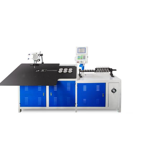 XLC 2D 2 Boyutlu CNC Tel Bükme Makinesi 2-6 mm