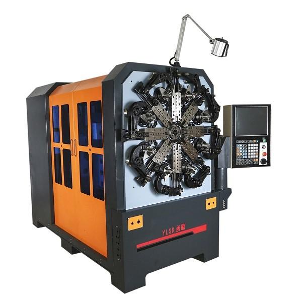 YLSK YLSK840 RW Çok amaçlı Helezon Yay Sarma Makinesi